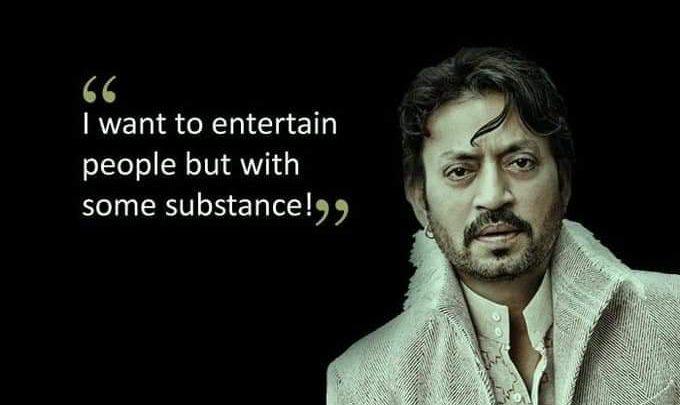 Irrfan khan Bollywood Actor